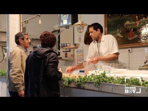 VÍDEO: El ayuntamiento de Lucena acomete obras de mejora en el mercado de abastos