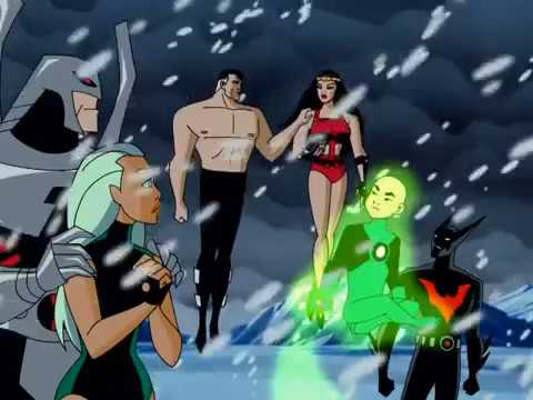 Batman Beyond and Superman save The Justice League Unlimited