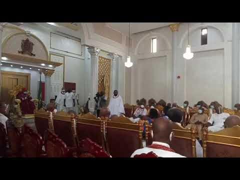 Edo 2020: Oba of Benin meet Oshiomhole, Ize-Iyamu, Oyegun, Obaseki, Shaibu   Vanguard News