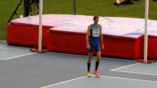 Бондаренко победный прыжок в высоту 2,41. Чемпионат Мира по легкой атлетике 2013.