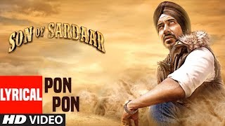 Son Of Sardaar Po Po Lyrical Video | Salman Khan, Ajay Devgn & Sanjay Dutt