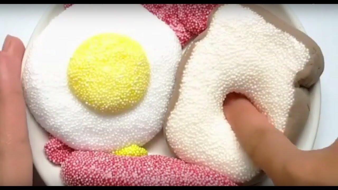 Слаймы в виде еды!/Попробуй не залипнуть АСМР видео/Food Slime - Satisfying Slime ASMR Video!.