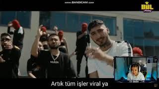 Eren - MUTİ - LE CANE feat. UZİ x CRİTİCAL x HEİJAN izliyor (reaction)