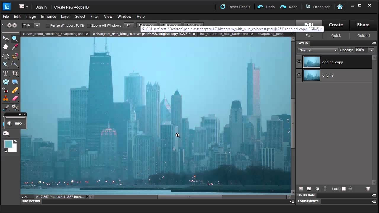 How to fix color cast in photoshop - Learn How To Remove A Color Cast From A Photo With Adobe Photoshop Elements 10