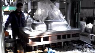 deep drawn stainless steel sink processing