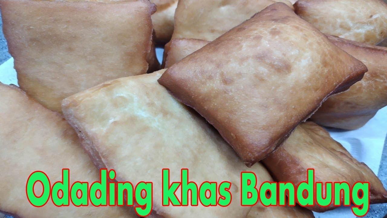 resep kue odading khas bandung    gurih ,empuk dan wuenaak