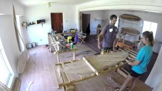 The Art of Making a Wooden Surfboard