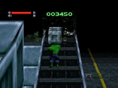 The Incredible Hulk Pantheon Saga Sega Saturn Youtube