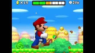 New Super Mario Bros. DS in 4K HD