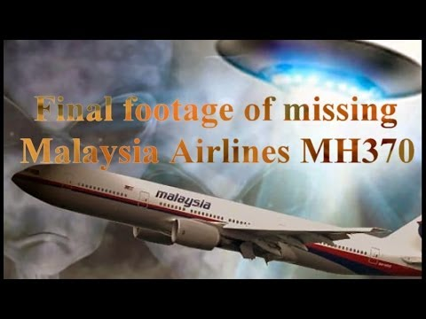 Final footage of missing Malaysia Airlines MH370