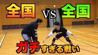 【バスケ】最強ともやんvs全国経験者シューターの歴史的1on1 thumbnail