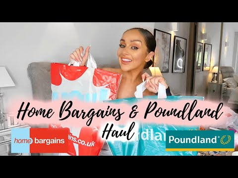 HUGE HOME BARGAINS AND POUNDLAND HAUL! // JUNE 2019