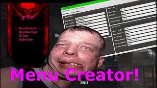 Black Ops 2 Mod Menu Creator (MAKE YOUR OWN BASE IN SECONDS!) Showcase! Good Idea??