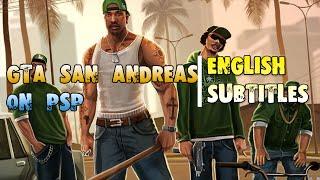 GTA San Andreas на PSP. (+English Subtitles)