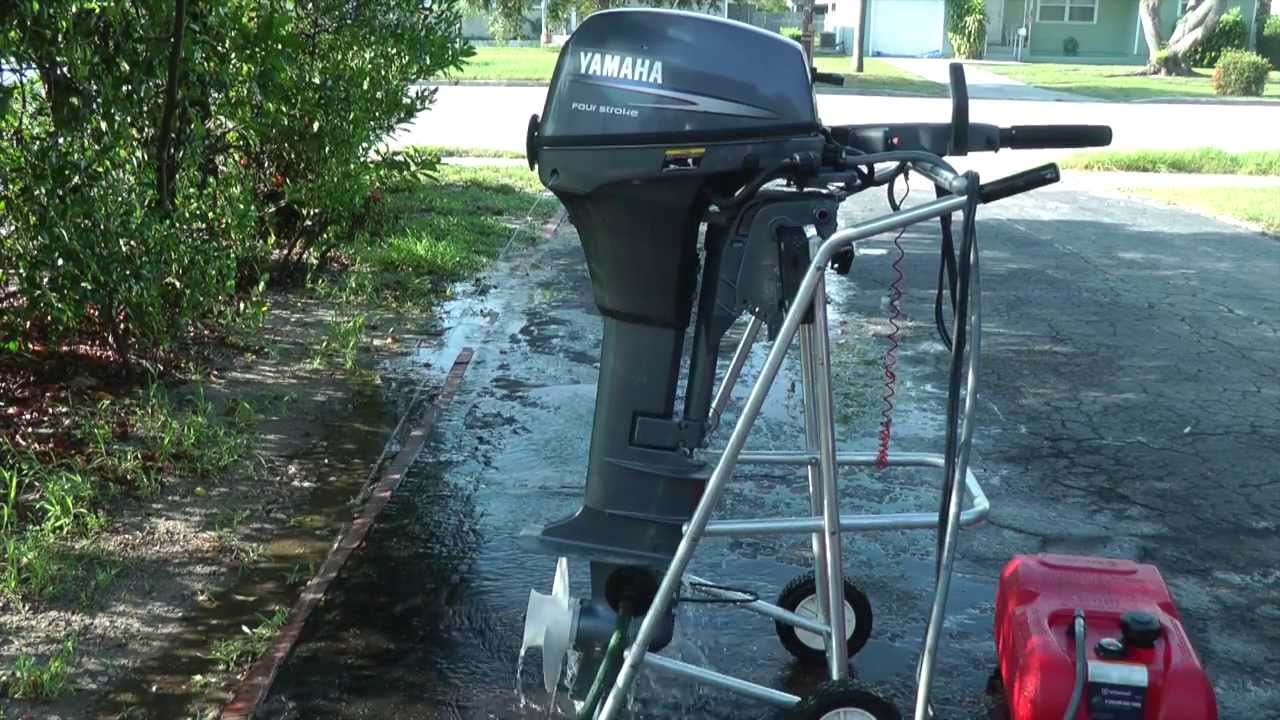 Yamaha  Hp Outboard Electric Start