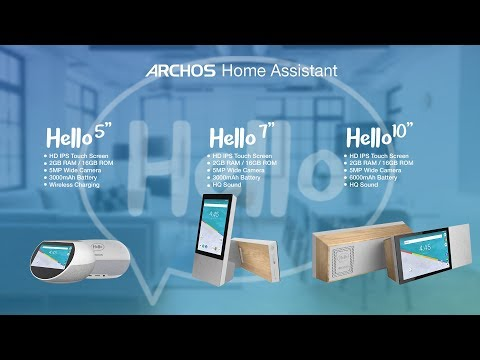 Meet ARCHOS Hello, your new daily companion!