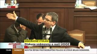 Zaorálek: Nečas chce přežít svou smrt. Nagyová a zločiny kolem ODS jsou pro něj jen bramboračka