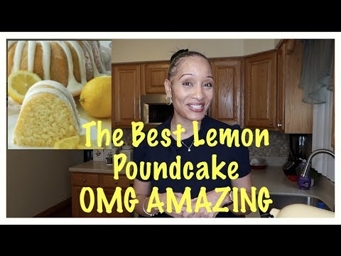 ALL AMERICAN BEST LEMON POUND CAKE ‼️ HOW TO MAKE A LEMON POUND CAKE ‼️LEMON POUND CAKE TUTORIAL ‼️