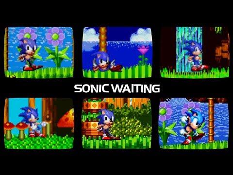 Sonic Waiting Comparison Youtube