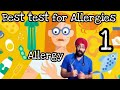 ALLERGY SCIENCE #1 : Best TEST For Allergies | ENG | Dr.Education