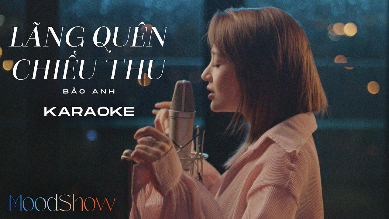 Lãng Quên Chiều Thu (Karaoke) - MoodShow - Bảo Anh
