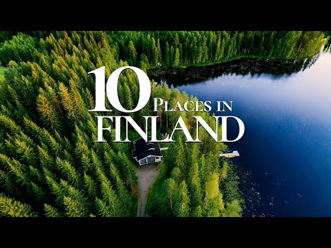 10 Beautiful Places to Visit in Finland 🇫🇮  | The Happiest Place in the World