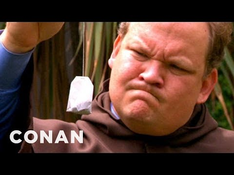 Andy Richter Learns About Teabagging  CONAN on TBS