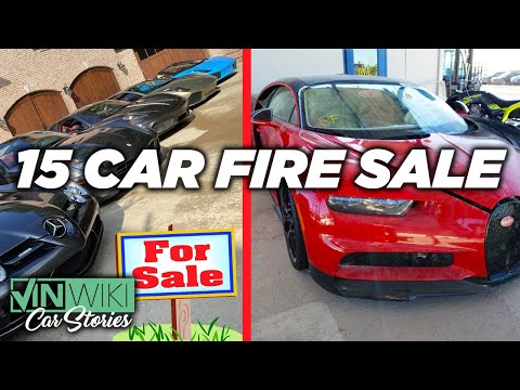 All 15 of Ed's cars are for sale! What's next?