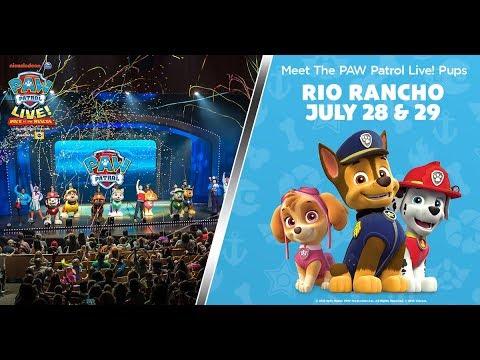PAW Patrol Live! Rio Rancho Santa Ana Star Center July 28 & 29!