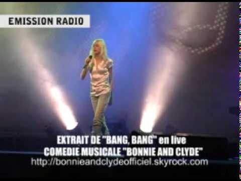 """BONNIE AND CLYDE """"BANG, BANG"""" par Cindy en live pour émission radio"""