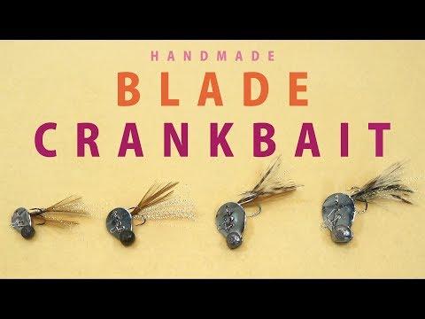 Handmade  COLORADO BLADE CRANKBAIT / コロラドブレードで作るクランクベイト