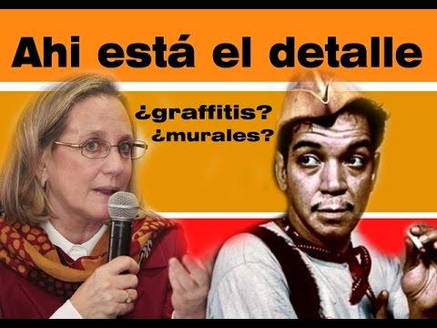 Ministra de cultura de Perú pronuncia sobre los murales borrados en Lima