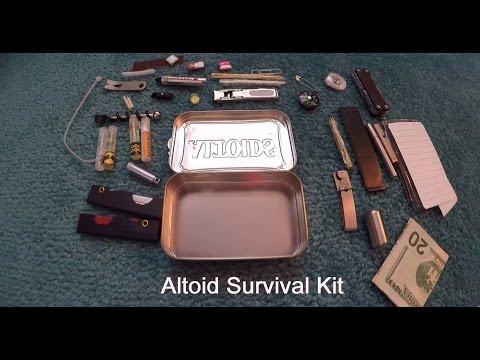 Altoid Urban Survival Kit