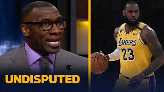 Skip & Shannon discuss if LeBron's role in social activism makes him the GOAT | NBA | UNDISPUTED