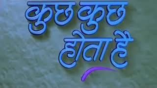 Film India kuch kuch hota hai shahrukh khan Anjani sub Indonesia