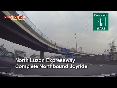 Pinoy Joyride - North Luzon Expressway (Complete NB) Joyride