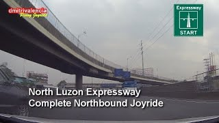 Pinoy Joyride - North Luzon Expressway (Complete NB) Joyride 2015