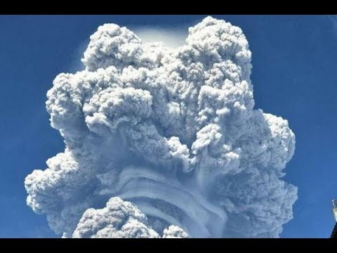 GSM Update 2/20/18 - Sinabung Explodes - Snow & Record Cold - Monolithic Domes