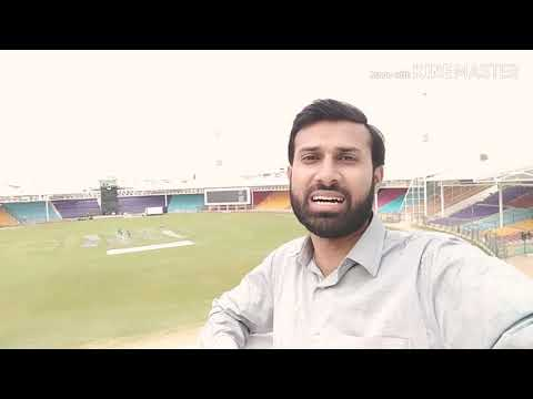 Latest update from #National Stadium Ground and Clock Tower #psl  2019