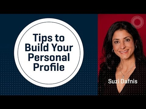 Tips to Build Your Personal Profile