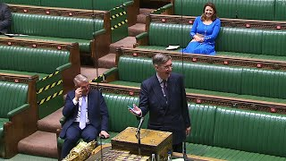 video: Watch: Jacob Rees-Mogg plays Rule, Britannia! in the House of Commons