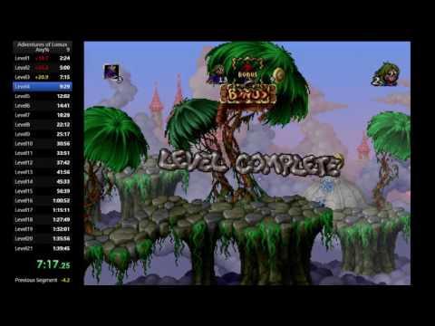 The Adventures of Lomax -  Speedrun - World Record