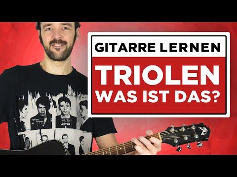 Gitarre lernen: TRIOLEN - Was ist das?