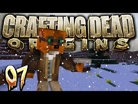 "Crafting Dead Origins - ""Snow Supply Run"" #7 (Minecraft Walking Dead Survival) S3"