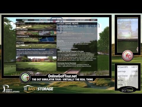 The Simulator John Deere [PGA] At TPC Deere Run W/ Zmax