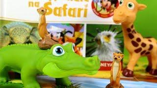 Przyjaciele na Safari #30 • Disney • Surykatka Monty & Marie • Encyklopedia zwierząt z zabawkami