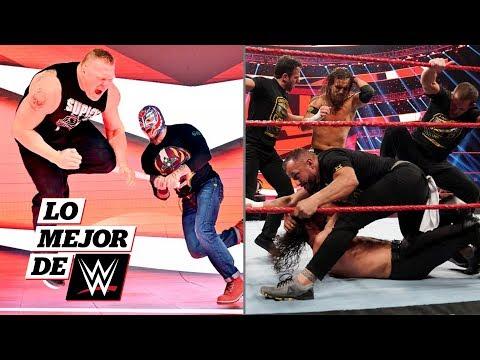 Rey Mysterio le responde a Brock Lesnar y NXT sigue atacando: Lo Mejor de WWE