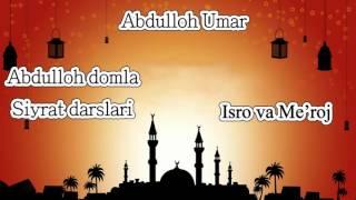 19.Abdulloh domla - Isro va Meroj