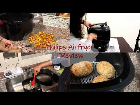 My Philips AirFryer Review, Cleaning & Maintenance / Bread Roll Recipe /Indian Vlogger Priyanka