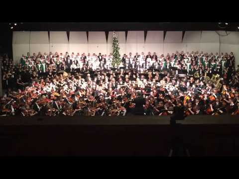 Floyd Central High School Combined Ensembles - White Christmas 2015